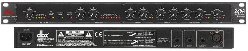 DBX 286A - Mic Preamp/Processor
