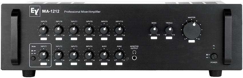 Electro Voice Ma 1212 Mixer Amplifier