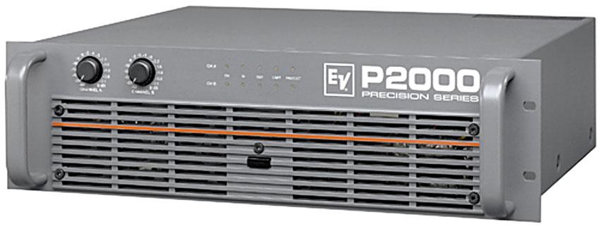 electro voice p 2000 precision series amplifiers. Black Bedroom Furniture Sets. Home Design Ideas
