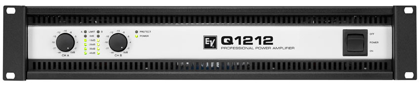 electro voice q1212 power amplifier. Black Bedroom Furniture Sets. Home Design Ideas