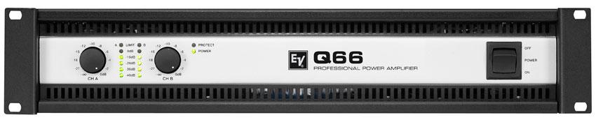 electro voice q66 power amplifier. Black Bedroom Furniture Sets. Home Design Ideas